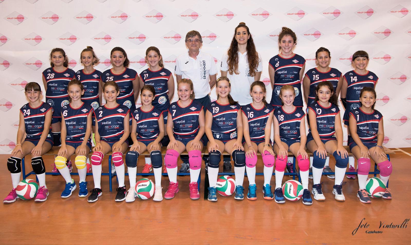 Volley Castelvetro under 11-12