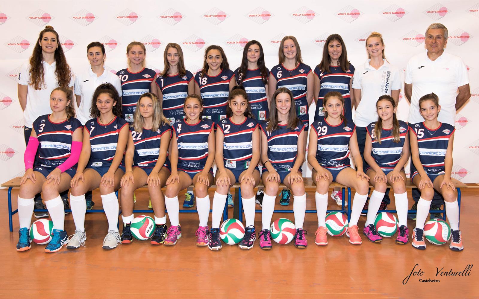 Volley Castelvetro under 13 Fipav