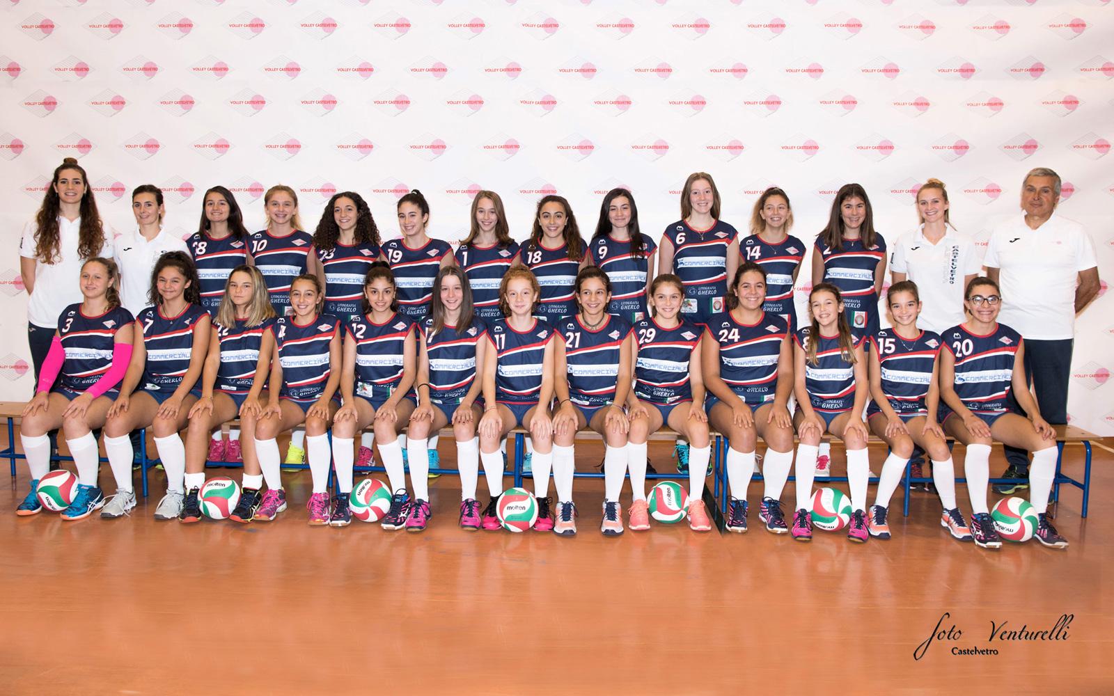 Volley Castelvetro under 16 Fipav Uisp