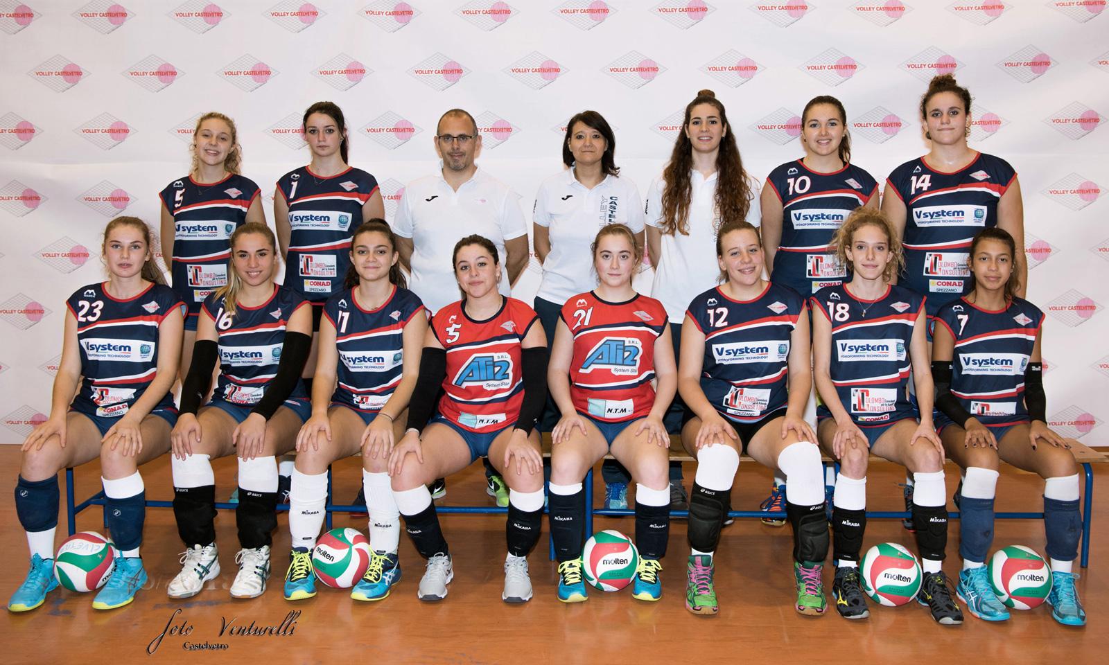 Volley Castelvetro under 18 Fipav