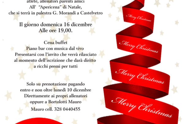 Volley Castelvetro Natale 2018