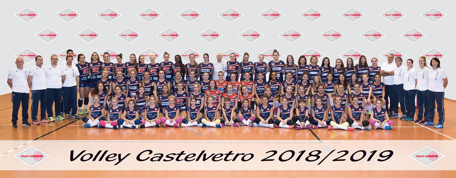 Volley Castelvetro 2018-2019